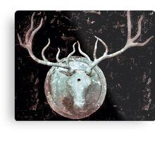 Deer Bust Metal Print