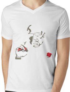Pokefather Mens V-Neck T-Shirt