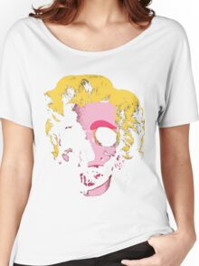 Marilyn Monroe Pop Art Skull Women's Relaxed Fit T-Shirt