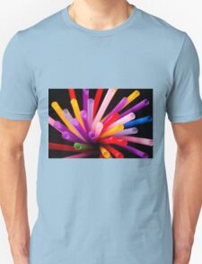 Colorful drinking straws T-Shirt