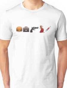 Emoji Pulp Fiction Unisex T-Shirt