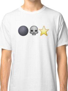 Emoji Death Star Classic T-Shirt