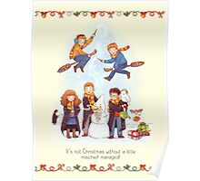 Mischievous Magical Merriment Poster