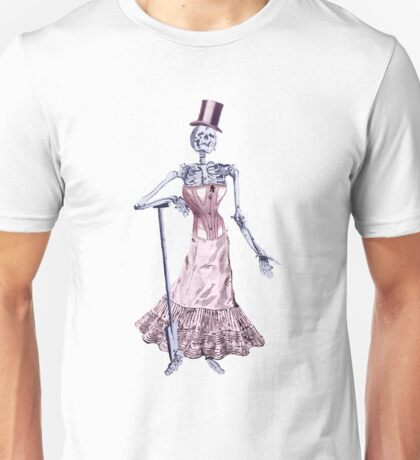 Victorian Drawing Collage II - Skellydress Unisex T-Shirt