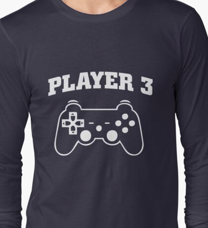Player 3 Gaming Long Sleeve T-Shirt