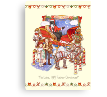 Search your feelings...you know it to be Yuletide Canvas Print