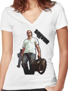 Trevor - GTAV Women's Fitted V-Neck T-Shirt