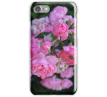Pink Roses Flowers iPhone Case/Skin