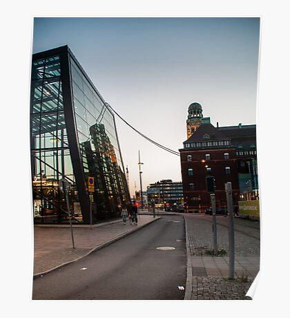 Malmö Centralstation Poster