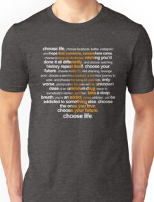 Trainspotting 2 Unisex T-Shirt