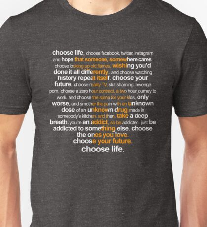 Trainspotting 2 Unisex T-Shirt