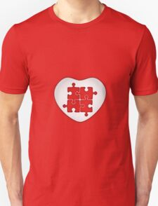 Puzzled Heart T-Shirt
