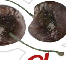 Life is Ebola Cherries Sticker