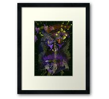 WDV - 011 - Shaggy Brush Framed Print