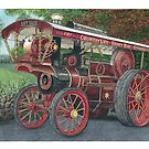 Traction engine by Brian Hargreaves
