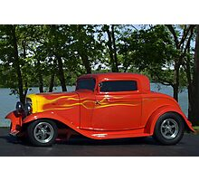 """1932 Ford """"Lil' Deuce Coupe"""" Hot Rod Photographic Print"""