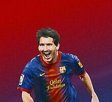 Messi - Fc Barcelona by Kcaveye
