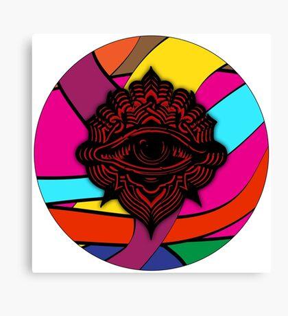 Psychedelic Eye#1 Canvas Print