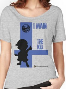 The Kid (Black) Women's Relaxed Fit T-Shirt
