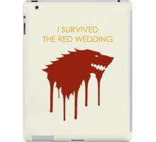 Red Wedding iPad Case/Skin
