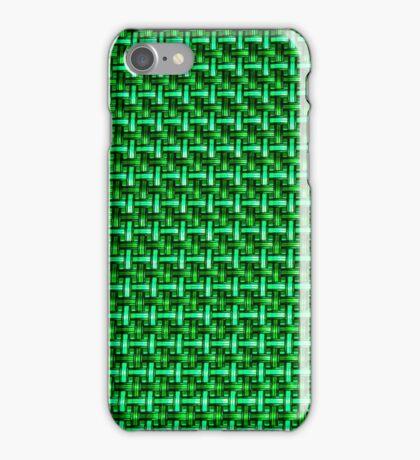 Geometric Green  iPhone Case/Skin