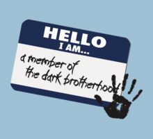Hello I am - a member of the Dark Brotherhood by nyaell