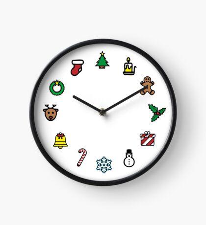 Christmas O'Clock - Time for Xmas Clock