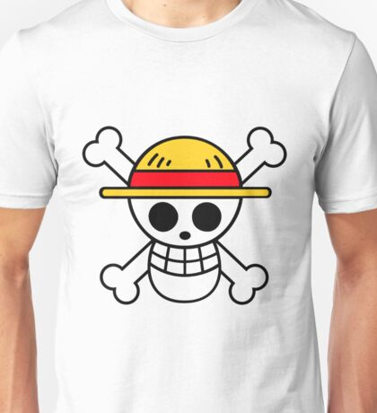 one piece - luffy - logo Unisex T-Shirt