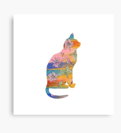 Paint The Cat Canvas Print