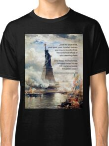 Refugees welcome: The new Colossus Classic T-Shirt