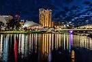 Adelaide river lights by collpics