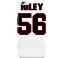 NFL Player Perry Riley fiftysix 56 iPhone Case/Skin