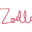 Zoella Logo - Pink by AllaBeck