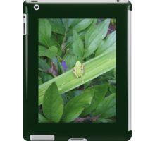 Green Friend iPad Case/Skin