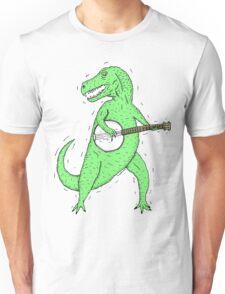 Dino Banjo Unisex T-Shirt