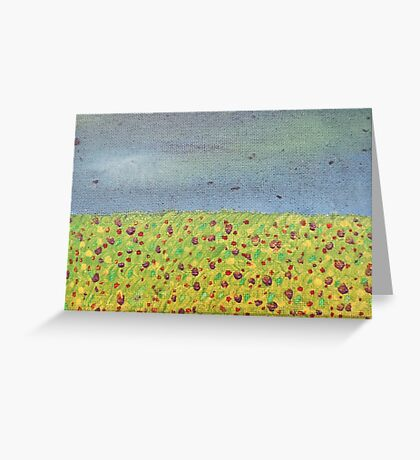Meadow At Dusk Greeting Card