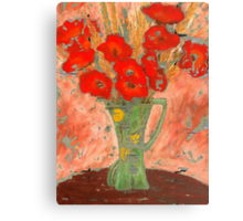 FADED FLOWERS Canvas Print