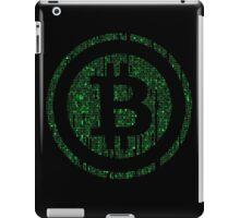 Bitcoin Matrix. iPad Case/Skin