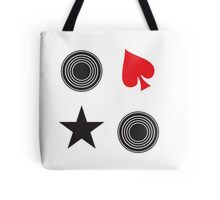 records and spades stickers Tote Bag
