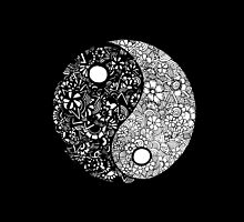Yin-Yang (Black) by Jaimee-Ann Driver