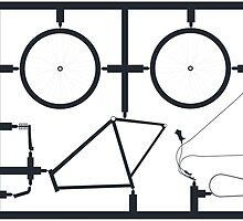 bicycle kit on the move by allthedots
