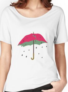 Watermelon Umbrella Women's Relaxed Fit T-Shirt