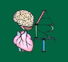 Brain Heart Art Unisex T-Shirt