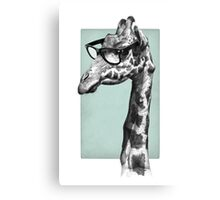 Short-Sighted Giraffe Canvas Print