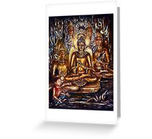 Buddha Prayer Greeting Card