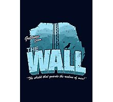 Greetings from the Wall Photographic Print