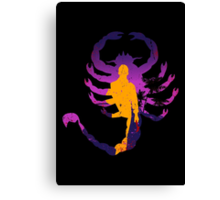 The Driving Scorpion Canvas Print