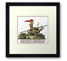 Dragonslayer Ornstein  - Resting Framed Print