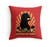 Mother of Ones Throw Pillow