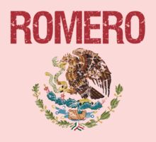 Romero Surname Mexican Kids Clothes